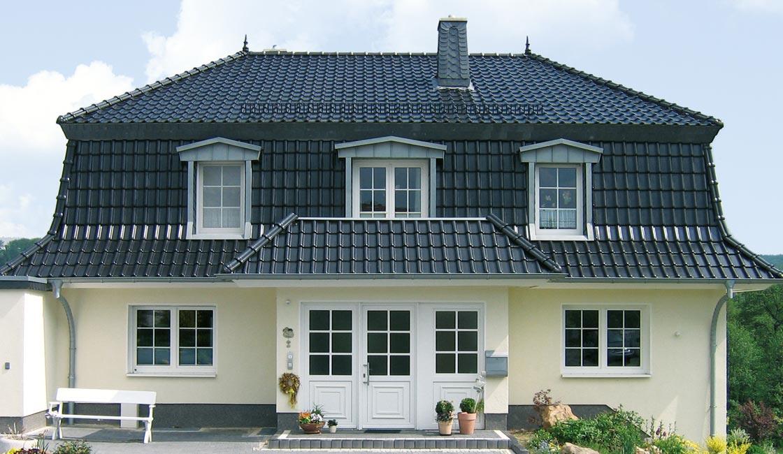 Gründe für Laumans - Referenzobjekt Dachziegel