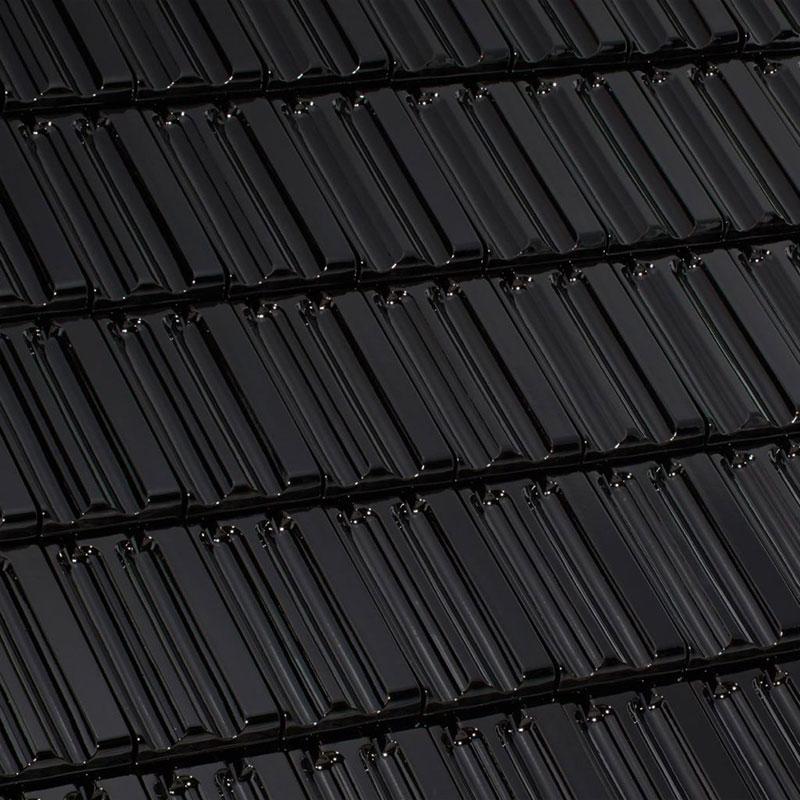 Laumans Dachziegel MULDEN VARIABEL in Farbe Nr. 50 – schwarz