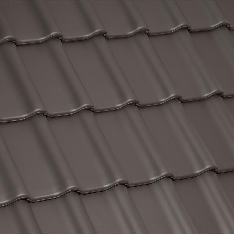 Laumans Dachziegel TIEFA SUPRA® in Farbe Nr. 12 – altfarben