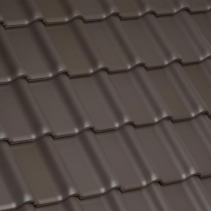 Laumans Dachziegel TIEFA XLTOP® in Farbe Nr. 12 – altfarben