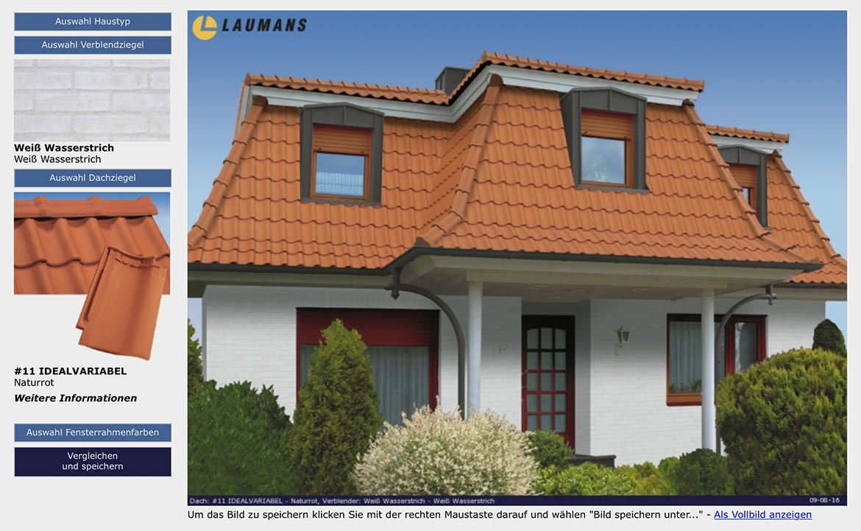 MYROOF Laumans Dachplaner -Simulationsprogramm