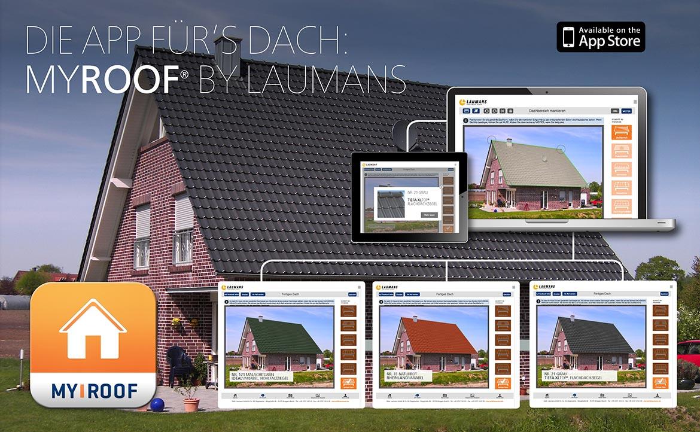 MYROOF Laumans Dachplaner -Simulationsprogramm Beispiel
