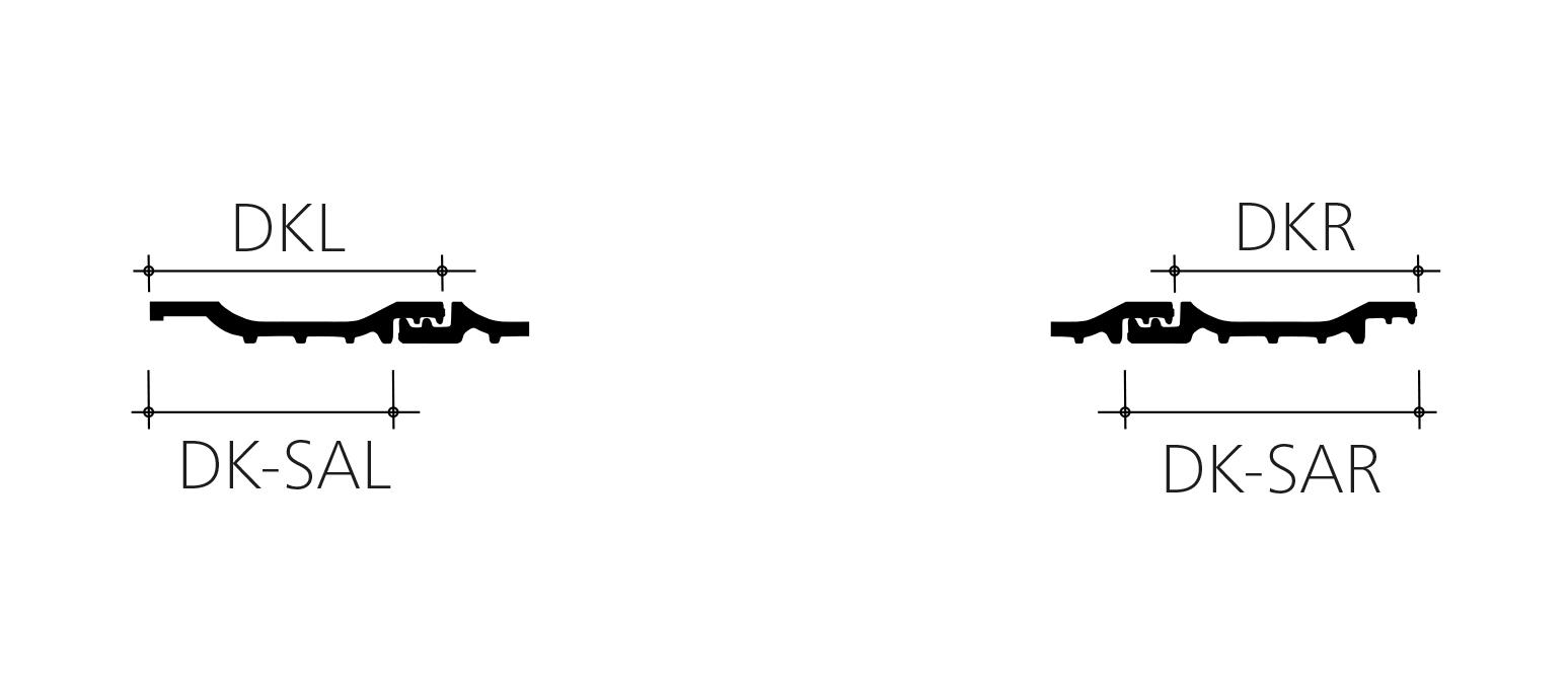 Rheinland Variabel Ortgang technische zeichnung