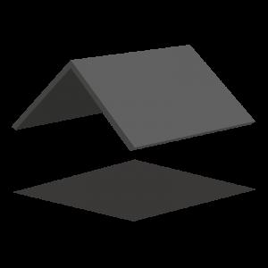 Dacharten - Satteldach (Illustration)