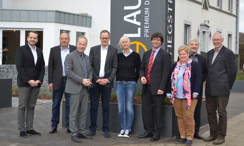 Marcus Optendrenk besucht Firma Laumans