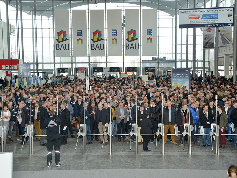 Laumans auf der Messe Bau 2019 in München
