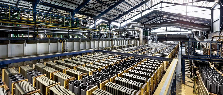 Dachziegelherstellung: Tunnelofen