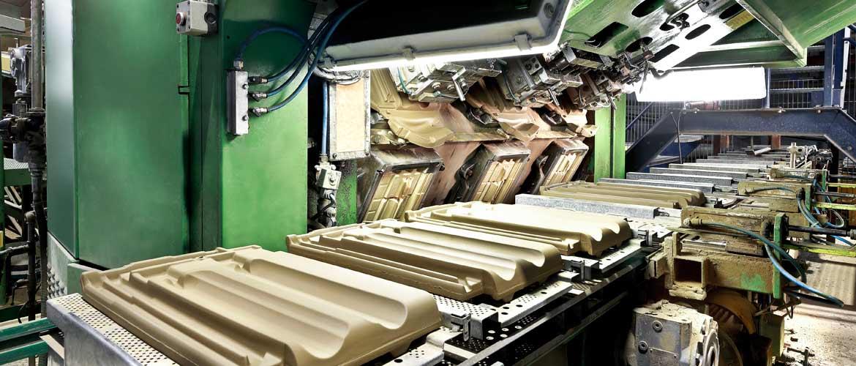 Dachziegelherstellung Laumans Dachziegelherstellung Revolverpresse