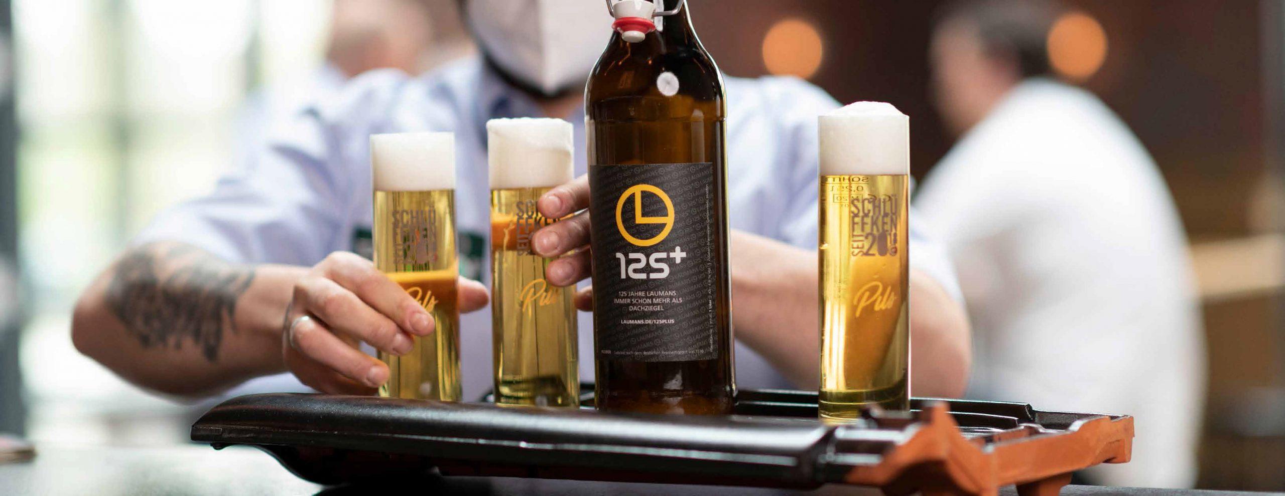Laumans 125Jahre Jubiläums Bier