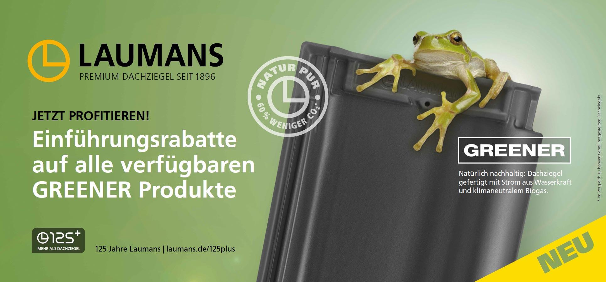 Laumans Greener Rabattaktion